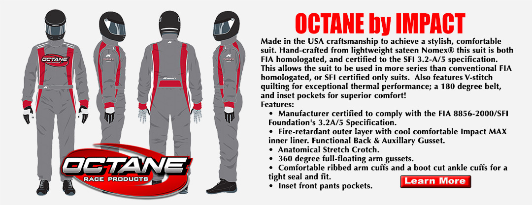 Octane Fire Suits